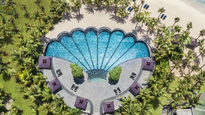 JW Marriott Phu Quoc Emerald Bay Resort & Spa was ranked 17 on the list. Photo courtesy of JW Marriott.
