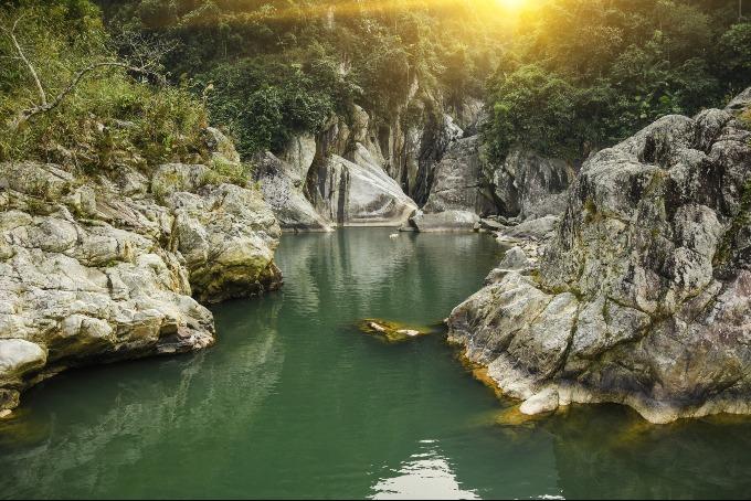 A scene in Hoang Lien Son National Park. Photo by Shutterstock/Aivars Ivbulis