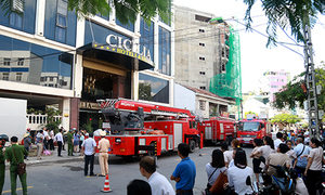 Nha Trang hotel catches fire, guests safe