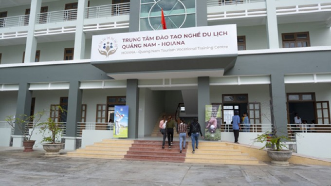 The vocational training center of Quang Nam - Hoiana provides tuition-exempt education and creates job opportunities for graduates.