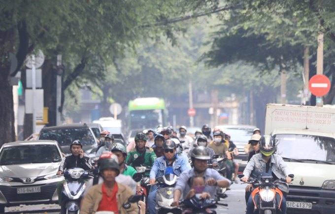 Foggy Saigon raises air pollution concerns - 5