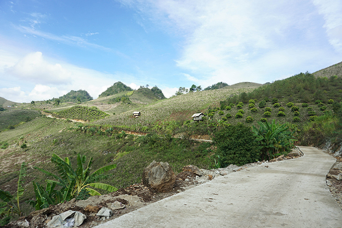 Ta So village. Photo courtesy of Huynh Kien