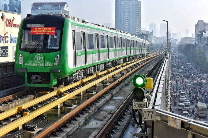 Hanoi metro fares initially capped at 65 US cents