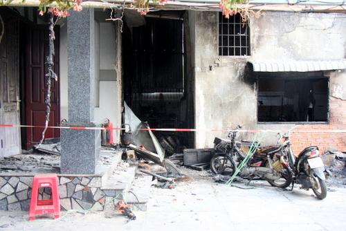 Three die as electronics repair shop burns down in southern Vietnam