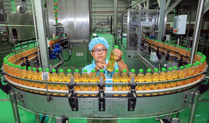 The company's ten aseptic production lines ensure the most hygienic, advanced bottling systems in the world.
