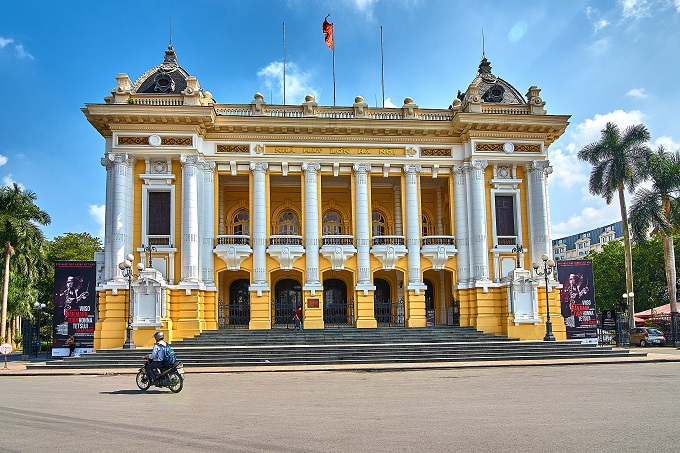 Front view of Hanoi Opera House. Photo by Shutterstock/Danny lacob.