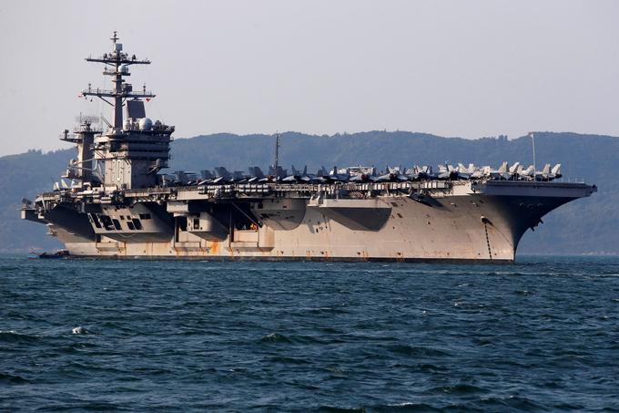 US hopes for second Vietnam aircraft carrier visit this year: official