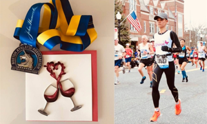 Chi becomes first Vietnamese woman to complete Boston Marathon