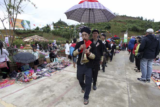 A festival organized by Sun World Fansipan Legend in Sapa.