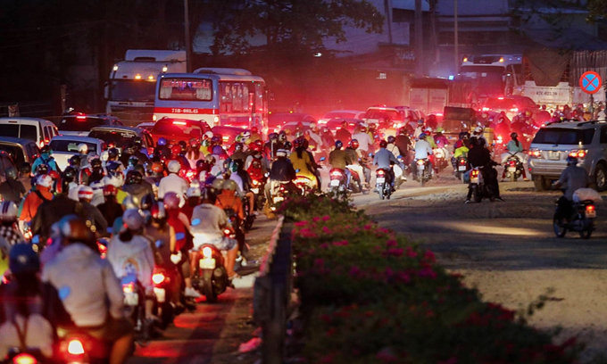 Saigon sets up division to manage all investment in traffic infrastructure