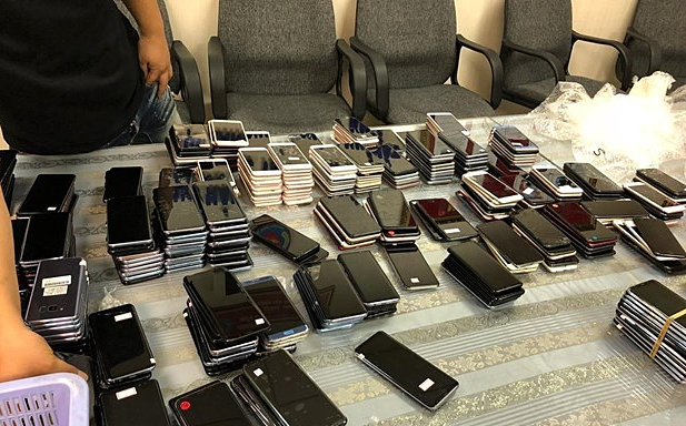 South Korean man arrested with 400 used mobile phones at Saigon airport