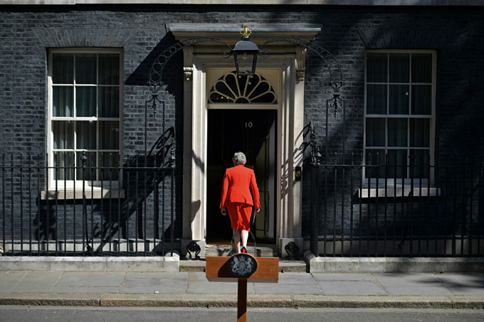 May will leave office without any significant achievements -- other than her bungled handling of Brexit, say analysts. Photo by AFP/Daniel Leal-Olivas
