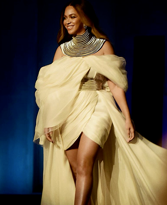 Beyonce at the AFI Award held in Los Angeles on June 6. Photo courtesy of Beyonces instagram