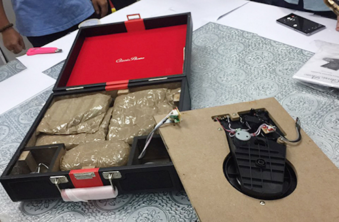 HCMC police find 15 kilos of narcotics in gift packages