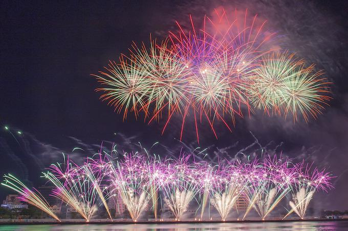 Finland lights up Da Nang skies, wins fireworks festival - 1