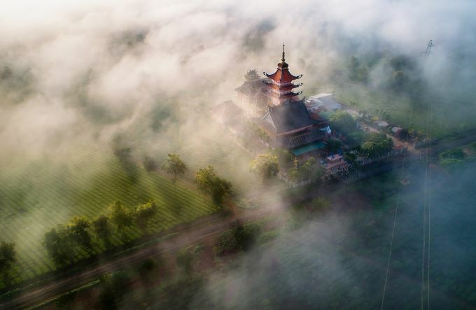 Misty enchantment of Gia Lai at dawn - 4