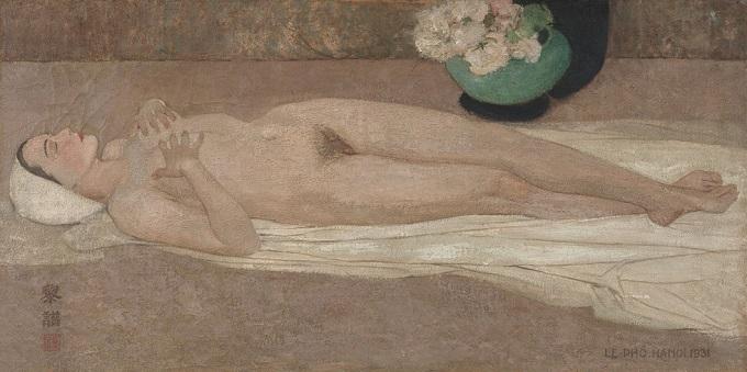 Khoa Than (Nude) by Le Pho.