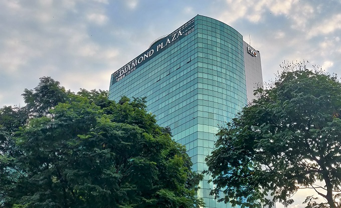 Diamond Plaza in District 1, Ho Chi Minh City. Photo by Nafi Wernsing.