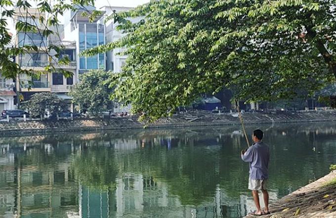 Ao Va Lake inYen Phu Village. Photo by Nguyen Thanh Duong.