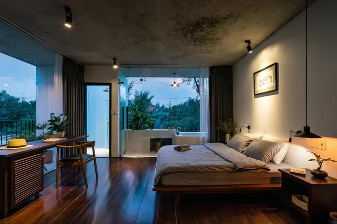 Quang Nam house opens up to nature - 6