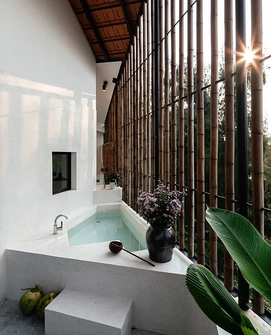 Quang Nam house opens up to nature - 10