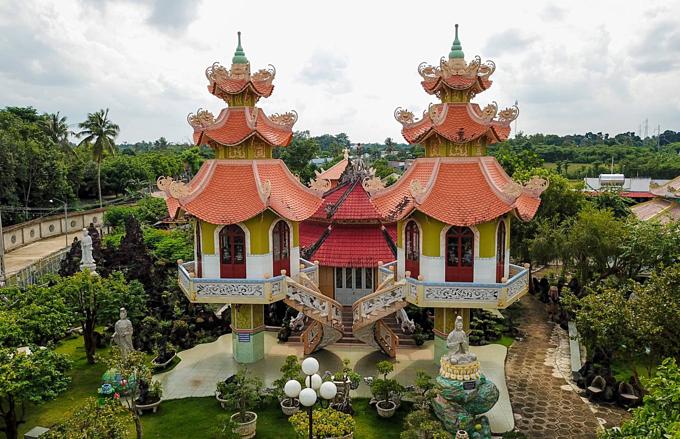 Pure Land pagoda's unique bamboo gate - 3
