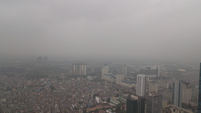 Hanoi air pollution rises to unhealthy highs