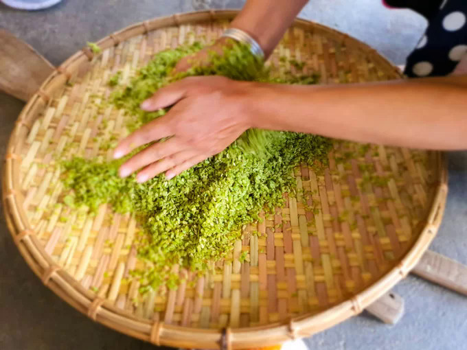 A gift from nature: Tu Les green rice flakes - 5