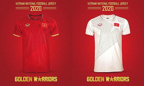 Vietnam unveil new football jersey - VnExpress International