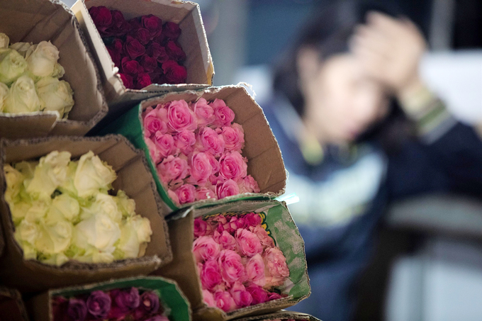 Many small traders said they would persist until the end of Valentines Day to recuperate expenses.