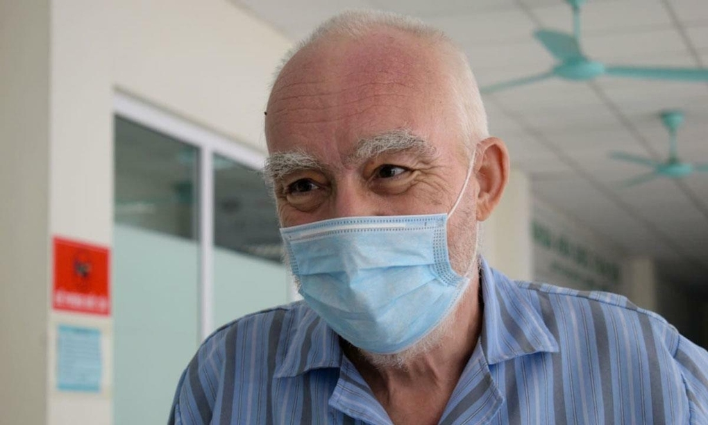 Graham Craddock has recovered after treatment in Vietnam.