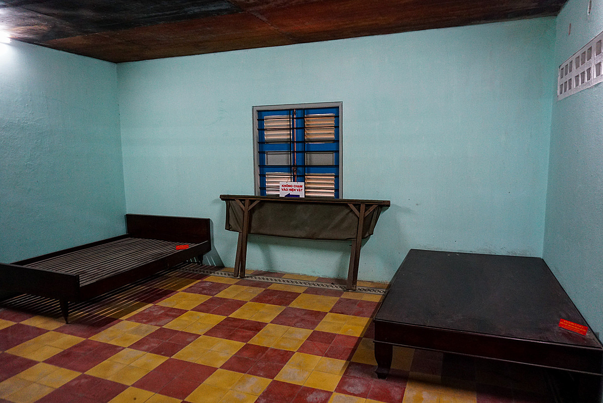 The bedroom where the Peoples Army of Vietnam used to rest in.