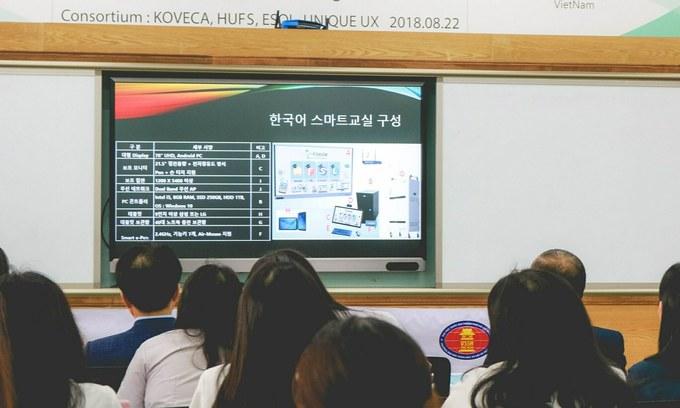 South Korea to train Korean language teachers for Vietnam, other countries