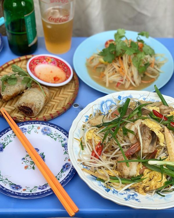Vietnamese dishes at the restaurant, Photo by @jiae4ever/Instagram.