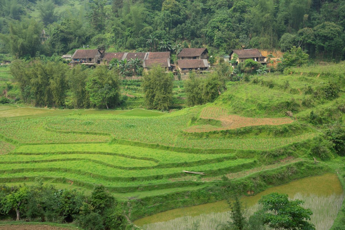 Nung Niec Village. Photo by Kch Felix.