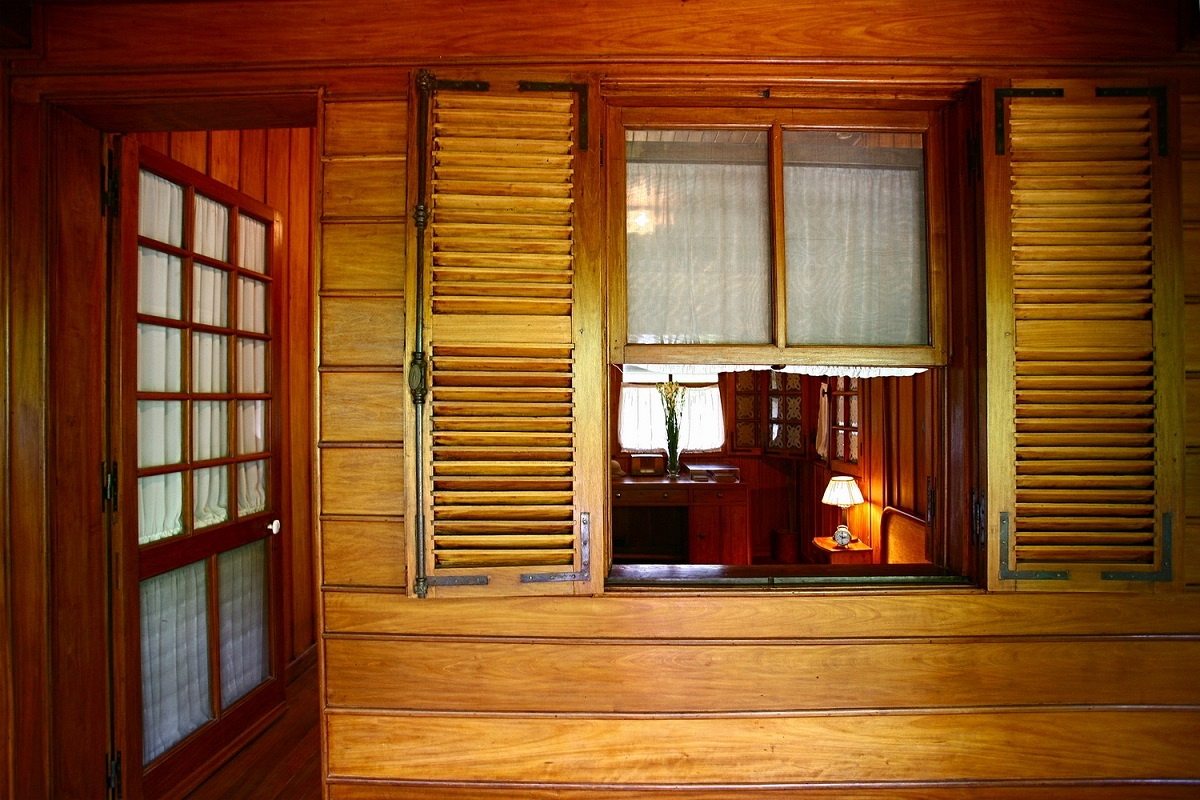 Uncle Ho's bedroom.Ho Chi Minh's Stilt House is a part of the Historial Vestiges of President Ho Chi Minh at the Presidential Palace, and recognised as a Special National Site.