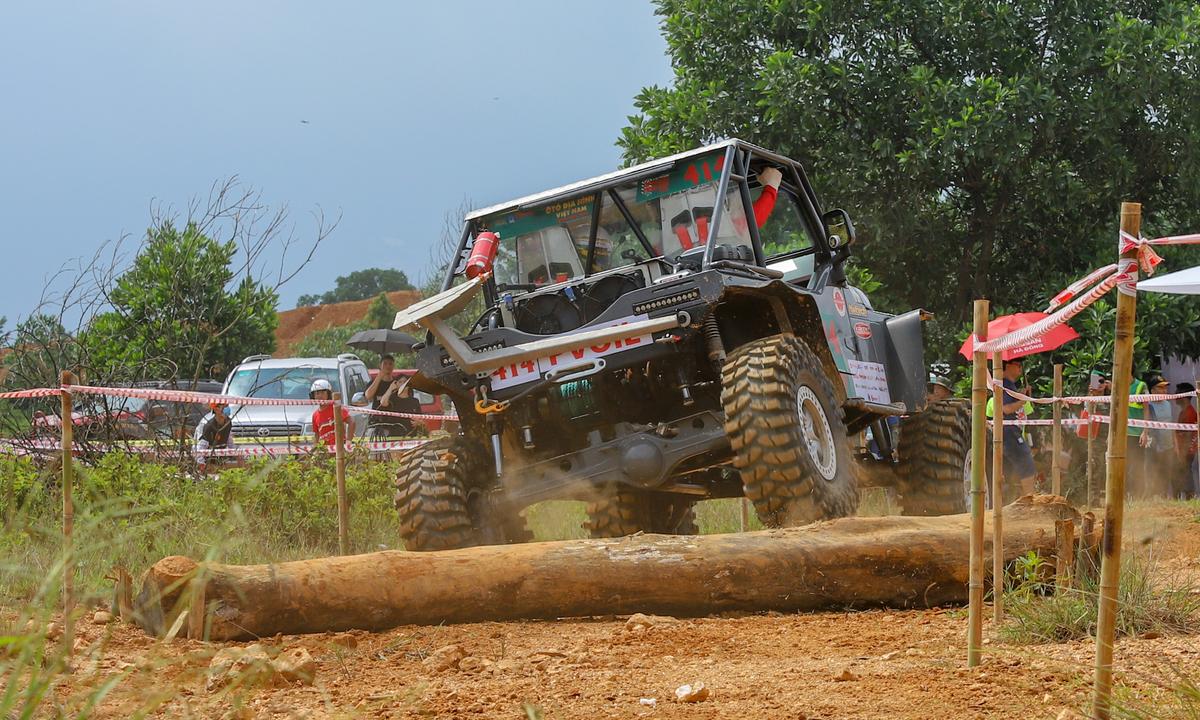 Vietnam off-road racing cup revs up a storm