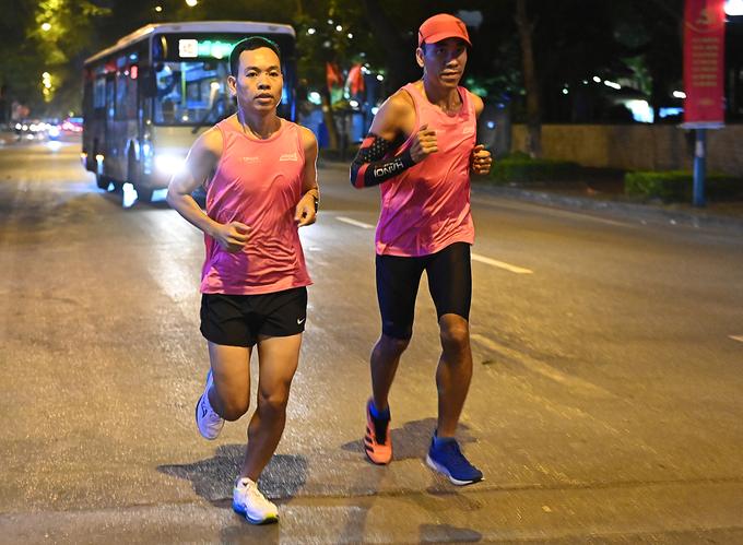 Marathon Hanoi Midnight will take place on November 28. Photo by: Giang Huy.