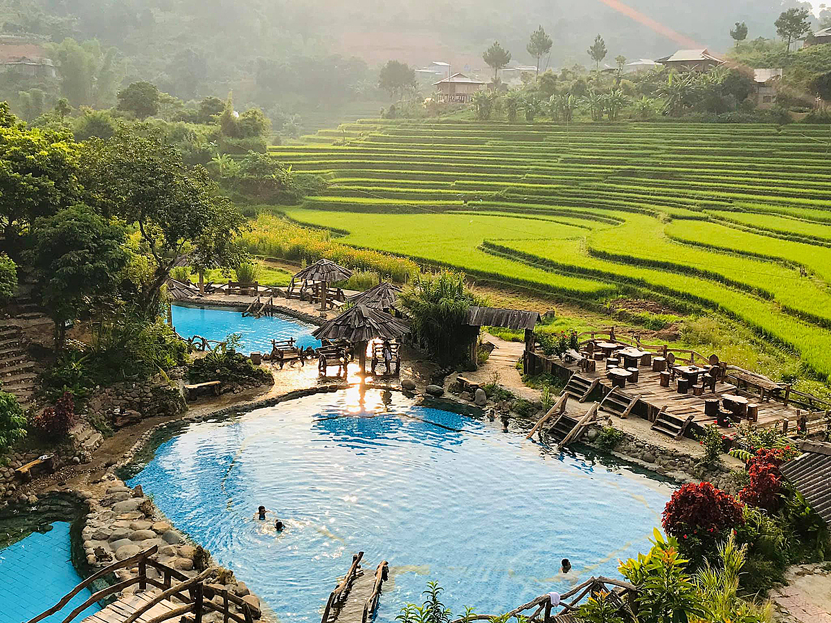 Four Vietnamese hot springs to revive the senses this fall
