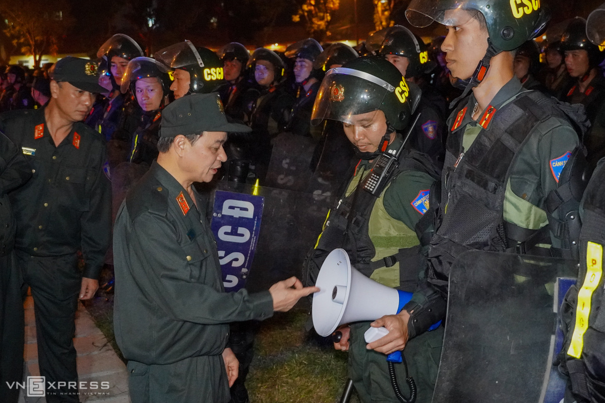 Special police force goes through with ASEAN Summit rehearsal