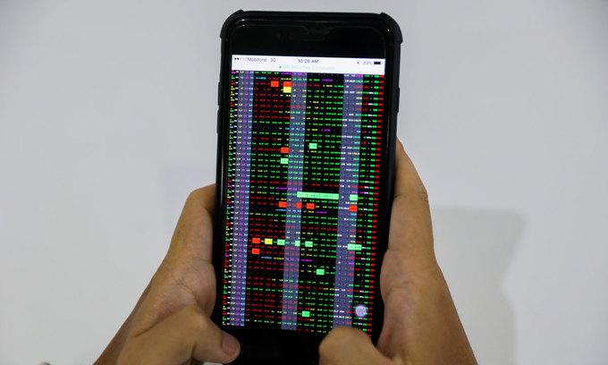 VN-Index on eight-session gaining streak