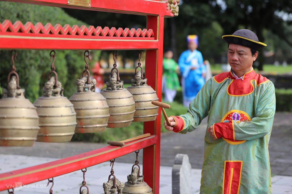 One of the Great Musical Instruments of Nguyen Dynasty.