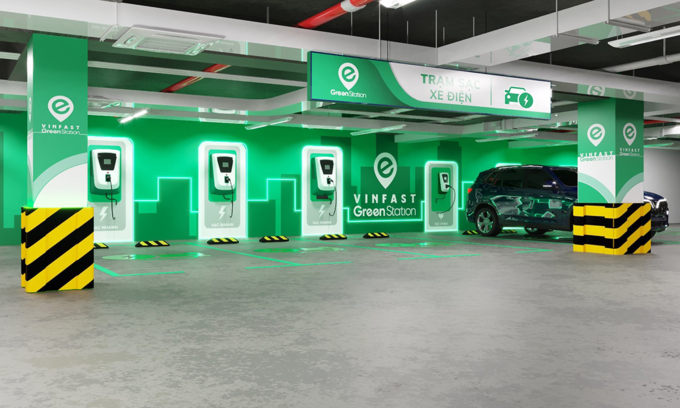 VinFast eyes 2,000 electric charging stations