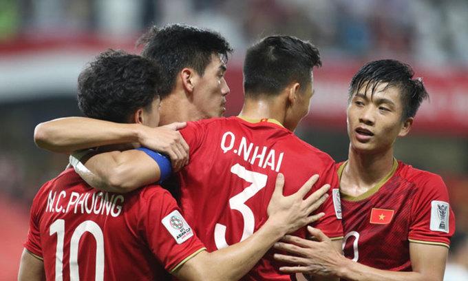Vietnam edge up football world rankings