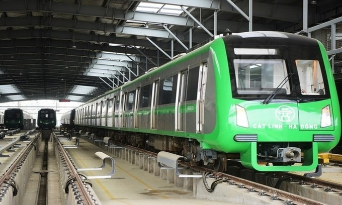 Hanoi metro to begin commercial operations this month