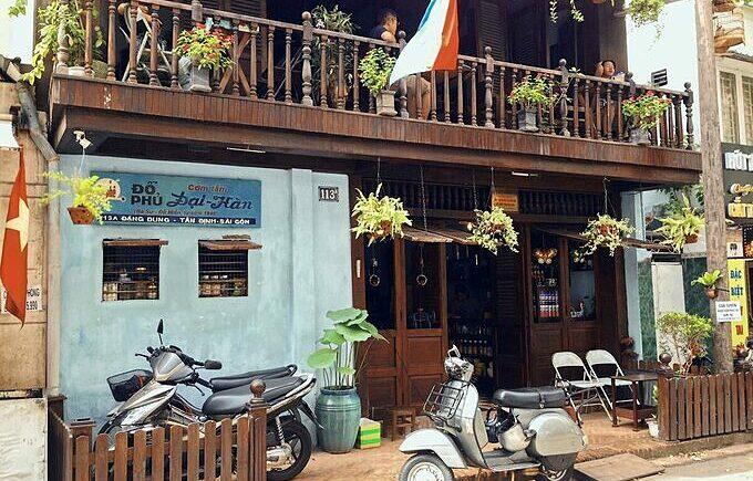 The Do Phu cafe, now Dai Han broken rice shop, in Saigon. Photo by VnExpress/Huynh Nhi.