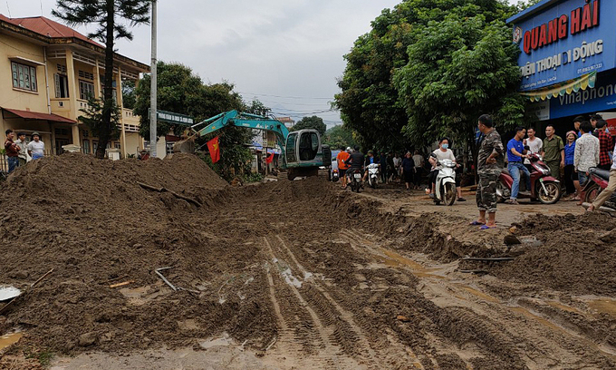 Floods kill two in Vietnam's northern mountainous province