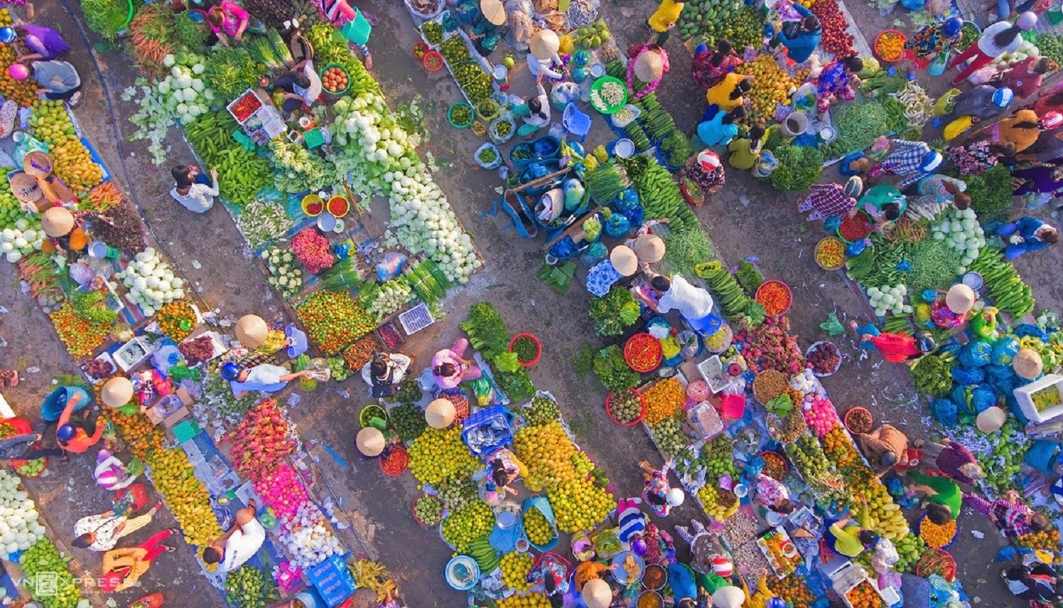 Hau Giang market displays magnetism of Mekong Delta