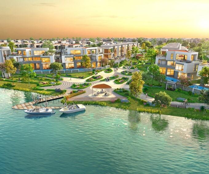Aqua City kỳ vọng thỏa mãn nhu cầu sống xanh chất lượng của cư dân thời 4.0. Ảnh phối cảnh:Novaland.