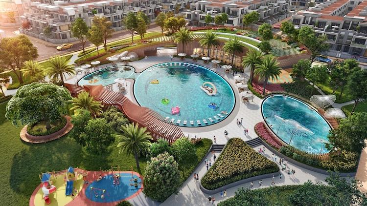 Prospective green living space at Aqua City designed by Novaland Group. Photo by Novaland Group.